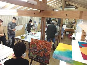水彩・油絵・日本画教室(パステル・アクリル・デッサン)