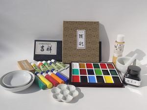 日本画絵具