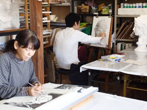 シニアの美術室